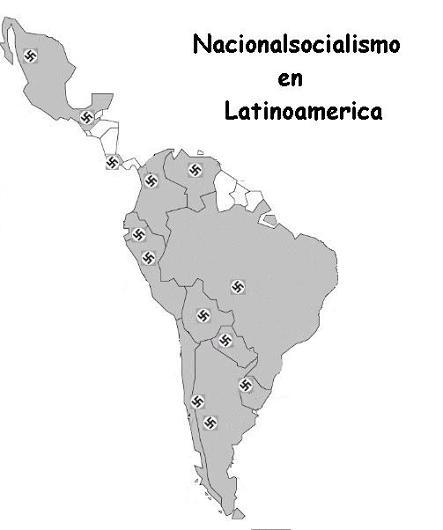 Algunos grupos y páginas web de Iberoamérica de inspiración nacionalsocialista