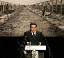 TRAS 60 AÑOS DE LA ENTRADA DE LAS TROPAS SOVIÉTICAS EN AUSCHWITZ