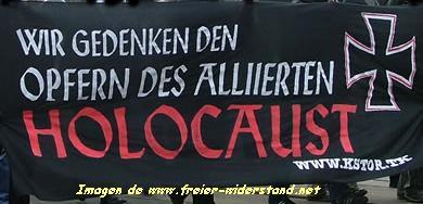 Imágenes de las manifestaciones en recuerdo de las víctimas en Dresden.